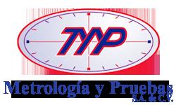 Metrología y Pruebas S.A. de C.V. Logo